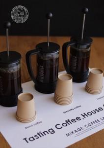 2014.10.20ミコボのテイスティングコーヒー