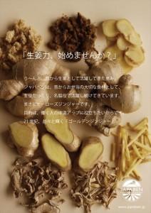 2015.1.26ジャパベンの生姜力「汐留の生姜生活」