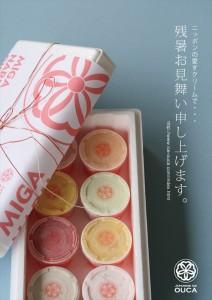 2015.8.23残暑お見舞いアイスギフト(櫻花)