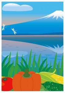 2016.8.16ジャパベンお弁当屋さんの「夏の富士山」(汐留&大手町)03