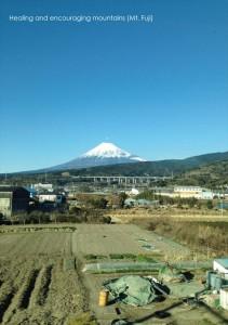 2017.1.21富士山の風景(新幹線から)